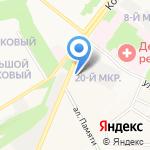 Лукойл-Черноземьенефтепродукт на карте Старого Оскола
