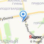 Российский Красный Крест на карте Старого Оскола