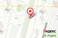Схема проезда до компании Интертехагро в Москве