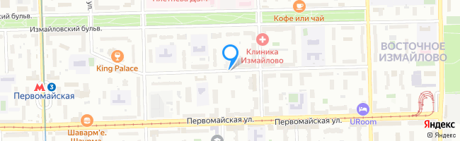 Средняя Первомайская улица