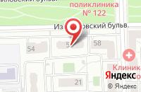 Схема проезда до компании МаксТрейдинг в Москве