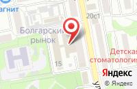 Схема проезда до компании СЛАВЯНКА в Старом Осколе