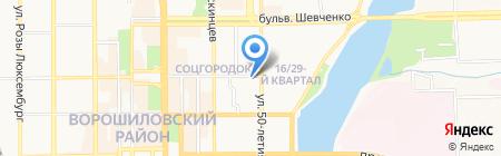 Анкор-Теплоэнерго на карте Донецка