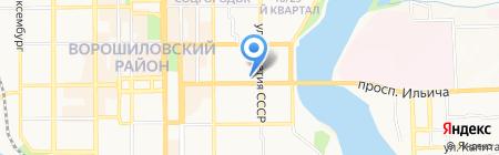 Amy Gee на карте Донецка
