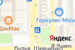Схема проезда до компании Ателье мод в Донецке