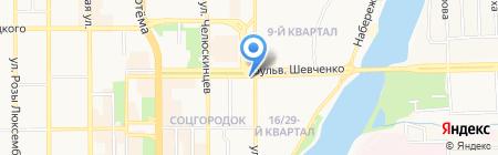 Бит-Стайл на карте Донецка