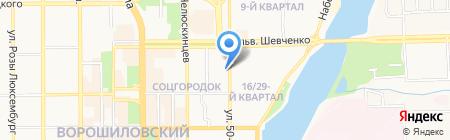 ZOT на карте Донецка