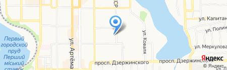 Нотариус Бадахов Ю.Н. на карте Донецка