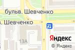 Схема проезда до компании Эскалибур в Донецке