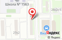 Схема проезда до компании Фирма  в Москве