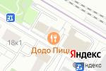 Схема проезда до компании Ringstop в Москве