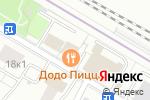 Схема проезда до компании Строительный двор в Москве