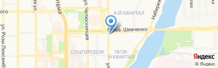 Чай кофе магазин на карте Донецка