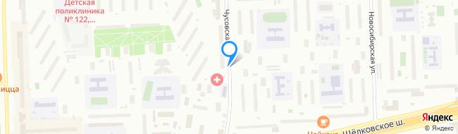 Чусовская улица