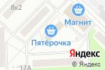 Схема проезда до компании Клен в Москве