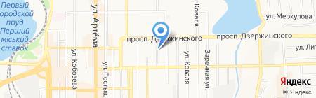 Азов груп на карте Донецка