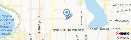Техника ЧАО на карте Донецка