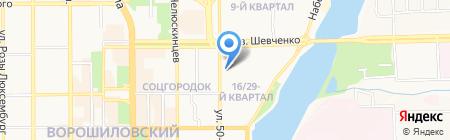 Донецкая общеобразовательная школа I-III ступеней №15 на карте Донецка