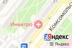 Схема проезда до компании Экона в Старом Осколе
