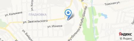Сказка на карте Донецка