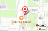 Схема проезда до компании Врс в Москве
