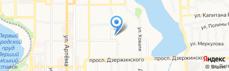 Нефтегазстрах на карте Донецка