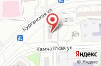 Схема проезда до компании Техпром-Мос в Москве