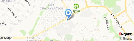 Почтовое отделение №5 на карте Старого Оскола