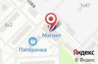Схема проезда до компании Техновест в Москве