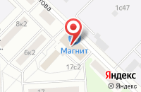 Схема проезда до компании О.С.А. - продакшн в Москве