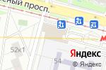 Схема проезда до компании Хлебная лавка в Москве