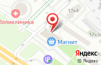 Схема проезда до компании Кэшгрупп в Москве