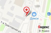 Схема проезда до компании РИАМА в Челюскинском