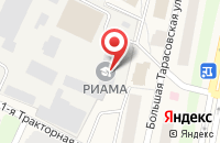 Схема проезда до компании Деметра в Челюскинском