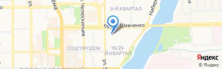 Lingual Universe на карте Донецка