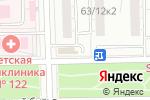 Схема проезда до компании Бульвар Мебели в Москве