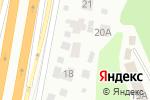 Схема проезда до компании Колесо в Октябрьском