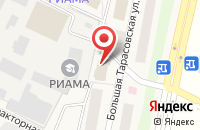 Схема проезда до компании Дикси в Челюскинском