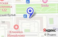 Схема проезда до компании ТФ 12 СТУЛЬЕВ в Москве