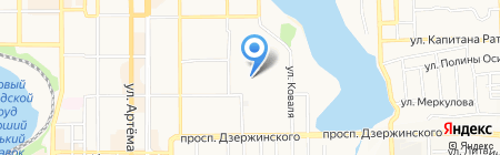 Nosovski на карте Донецка