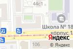 Схема проезда до компании Экономико-технологический колледж №22 в Москве