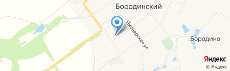 Пятёрочка на карте Бородинского
