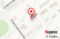 Схема проезда до компании Пятёрочка в Бородинском