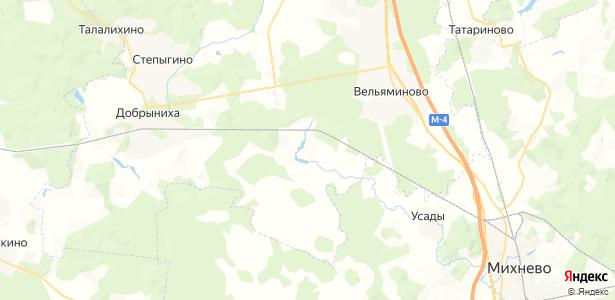 Глотаево на карте
