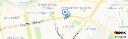 Банкомат Центрально-Черноземный банк Сбербанка России на карте Старого Оскола