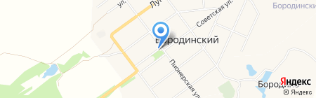 Магазин продуктов на карте Бородинского