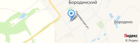 Магазин хозяйственных товаров на карте Бородинского