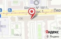 Схема проезда до компании Планета Детства в Москве