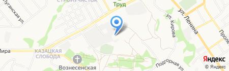 Торговый дом Потатушкиных на карте Старого Оскола