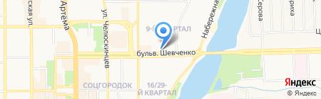 АРТКЛИМАТ-ДОН на карте Донецка